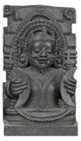 In Hindu mythology, Rahu is a snake that swallows the sun or the moon causing eclipses. He is depicted in art as a dragon with no body riding a chariot drawn by eight black horses. Rahu is one of the navagrahas (nine planets) in Vedic astrology. The Rahu kala (time of day under the influence of Rahu) is considered inauspicious.<br/><br/>  According to legend, during the Samudra manthan, the asura Rahu drank some of the divine nectar. But before the nectar could pass his throat, Mohini (the female avatar of Vishnu) cut off his head. The head, however, remained immortal. It is believed that this immortal head occasionally swallows the sun or the moon, causing eclipses. Then, the sun or moon passes through the opening at the neck, ending the eclipse.<br/><br/>  Astronomically (as per Hindu Astrology), Rahu and Ketu denote the two points of intersection of the paths of the Sun and the Moon as they move around the celestial sphere. Therefore, Rahu and Ketu are respectively called the north and the south lunar nodes. The fact that eclipses occur when Sun and Moon are at one of these points gives rise to the myth of the swallowing of the Sun.<br/><br/>  Rahu is a legendary master of deception who signifies cheaters, pleasure seekers, operators in foreign lands, drug dealers, poison dealers, insincere and immoral acts, etc. It is the significator of an irreligious person, an outcast, harsh speech, logical fallacy, falsehoods, uncleanliness, abdominal ulcers, bones, and transmigration. Rahu is instrumental in strengthening one's power and converting even an enemy into a friend. In Buddhism Rahu is one of the krodhadevatas (terror-inspiring gods).